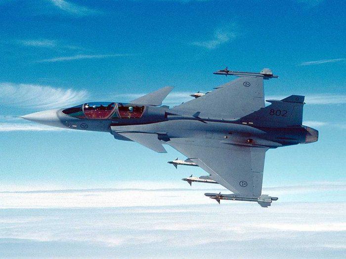 Best fighter jets Saab JAS 39 Gripen