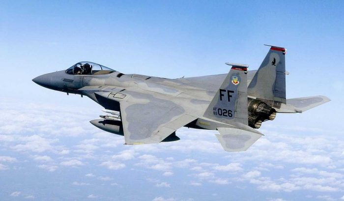 Top fighter planes F-15 Strike Eagle