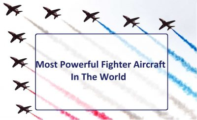 Which is the most powerful figher plane jet aircraft